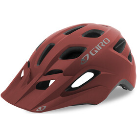 Giro Fixture Casco, matte dark red